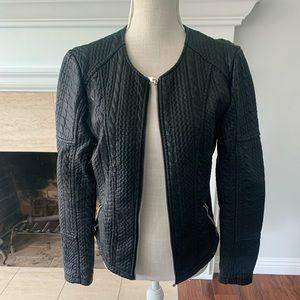 NY & Co. Leather Jacket